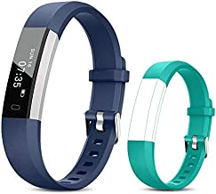 TOOBUR Fitness Activity Tracker Watch for Kids Girls Boys, Pedometer, Calorie Counter, IP67 Waterproof Step Counter Watch with Sleep Monitor and Vibrating Alarm Clock (Blue Green)