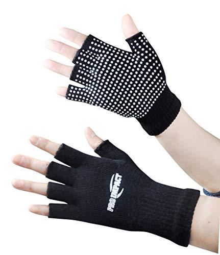 Pro Impact Yoga Gloves Black