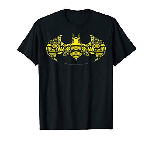 DC Comics Batman Gadgets Classic Logo T-Shirt