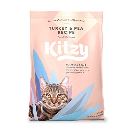Kitzy Dry Cat Food by Amazon, Turkey and Pea Recipe (12 lb bag)