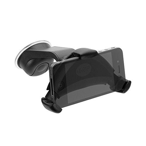 iGRIP T5-40130 Smart Grip'R x'tra - Universal KFZ Halterung für Apple iPhone 6S/7/8/X, Samsung, Sony uvm. [5 Jahre Garantie | Made in Germany | 360 Grad drehbar | Vibrationsfrei | Einhandbedienung]