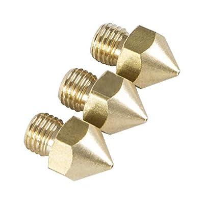 Original Creality 0.4 mm Nozzles for 3D Printer Creality CR-10S Pro, CR-10S Pro V2, CR-10 Max