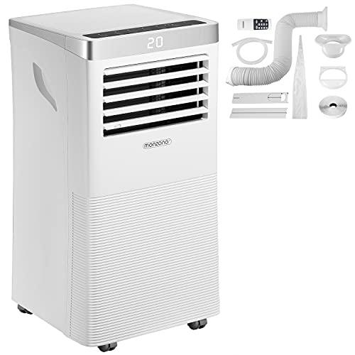 climatizzatore portatile wifi Monzana Climatizzatore Portatile 5in1 WiFi App Telecomando 9000BTU Condizionatore Aria Riscaldamento