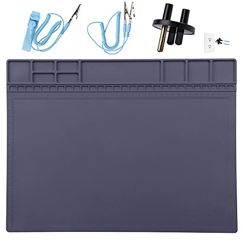 Anti-Static Mat ESD Safe for Electronic Includes...