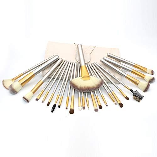 Qiuge Make-up Pinsel Tools Kit Hochwertige Beige Schönheit, Größe: 25.4x52.6cm Donzy