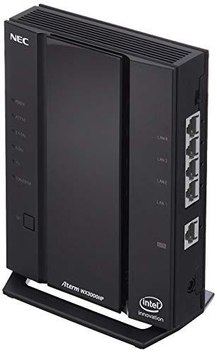 NEC 無線LAN Wi-Fi ルーター Wi-Fi 6(11ax)/AX3000 Atermシリーズ 2ストリーム (5GHz帯 / 2.4GHz帯) AM-AX3000HP