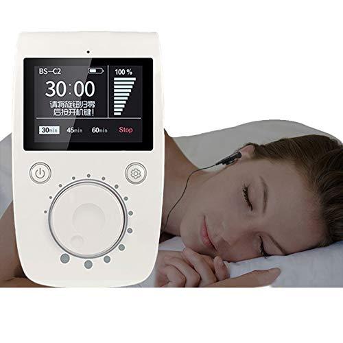 fall Sleep Aid Gerät, CES Insomnia Relief Gerätehilfe Schlaf Besser, Angst Depression Kopfschmerzen Reliever, Schlaf-Unterstützung Maschine