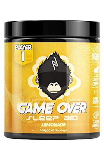 Player 1 - Game Over Gamer Sleep Aid - Lemonade - 40 Servings…