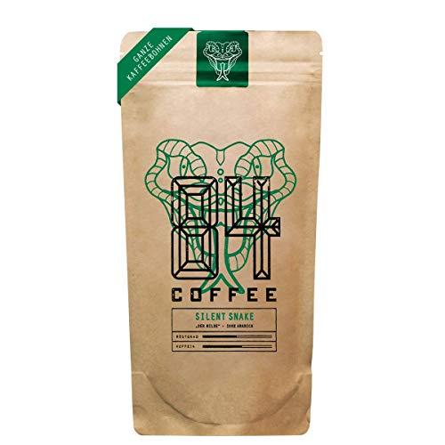 84 Coffee - Vietnamesischer Premium Kaffee - Silent Snake - Hell geröstet - 100% Arabica -fairer & direkter Handel - frisch & schonend geröstet - Kaffeebohnen (1kg)