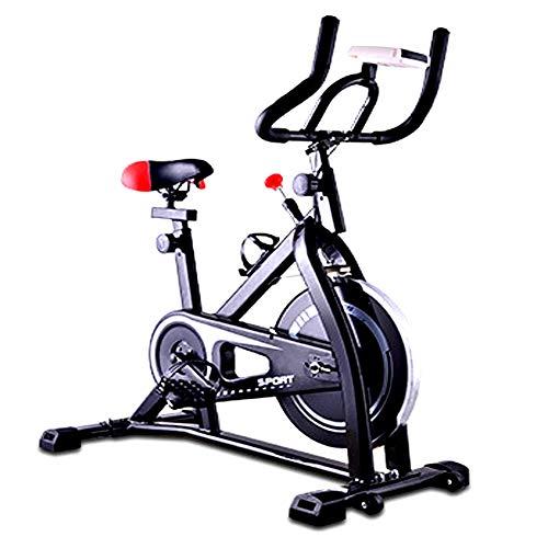 GMQRKL Bicicleta de Spinning, Bicicleta de Ejercicios silenc