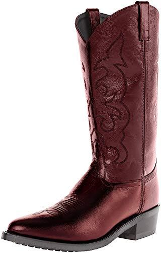 Old West Boots TBM3013黑樱桃10 D (M)