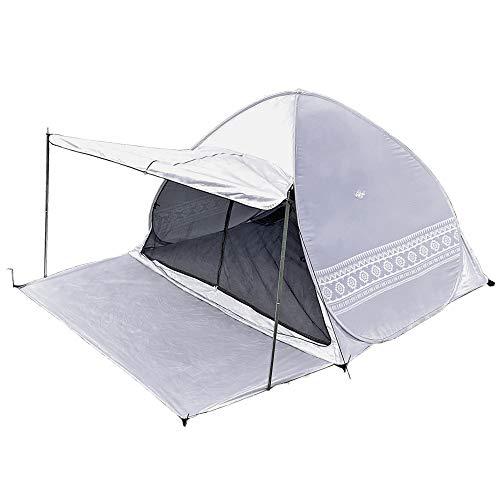 Viaggio+ ポップアップテント キャノピー付き タープ付き 収納袋 ペグ ロープ 200cm 2〜3人用 アウトドア キャンプ