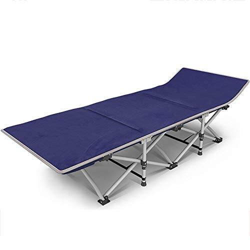 YQDSY Cuna de oficina Cama plegable Cama de campamento individual portátil simple Cama para tomar una siesta Tumbona eh / 1007