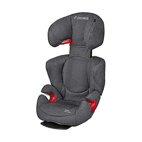 Maxi-Cosi Rodi AirProtect Kindersitz, Autositzerhöhung mit hoher Rücklehne, 3,5 - 12 Jahre, 15 - 36 kg, Sparkling Grey (grau)
