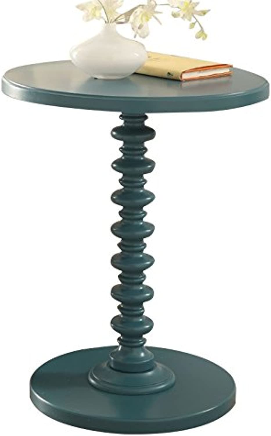 Bowery Hill End Table in Teal