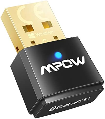 Mpow USB Bluetooth 5 1 Adapter for PC Bluetooth Dongle Support Windows 10 8 1 7 Linux for Desktop product image
