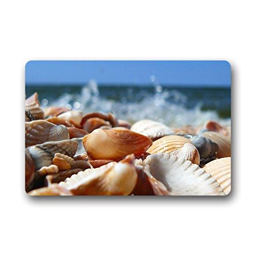 Doubee Paillasson Design Seashells Pebble Herzlich Premium Tapis Anti-Poussière passwort 46 cm x 76 cm, Tissu, E, 18\