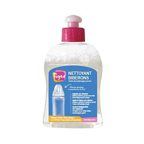 Tigex 80800225 - Líquido limpiador para biberones, color transparente