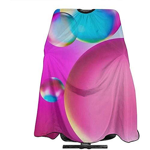 Kapper Schort Led Ballon Drop Water Barber Cape Cover 140X168Cm Haar Snijden Schort Kappers Styling Shampoo Capes Volwassenen