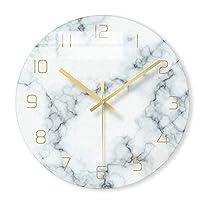 壁掛け時計北欧大理石壁掛け時計モダンミニマリスト寝室アート時計パーソナリティクリエイティブリビングルームファッションウォールウォッチ