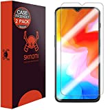 Skinomi TechSkin [2-Pack] (Case Compatible) Clear Screen Protector for OnePlus 6T Anti-Bubble HD TPU Film