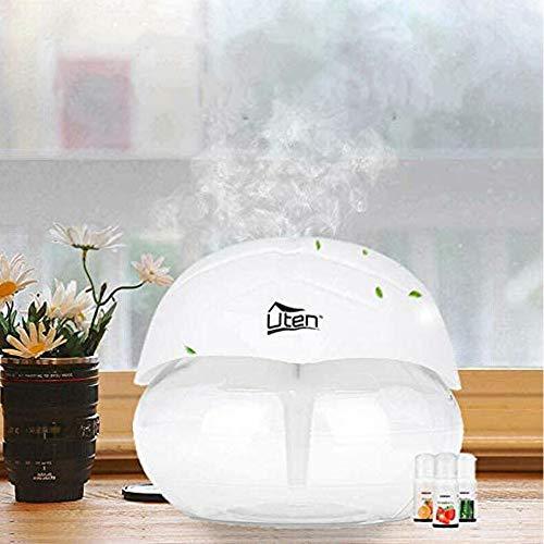 Uten Difusor silencioso del humidificador del agua del purificador de aire con 7 luces LED