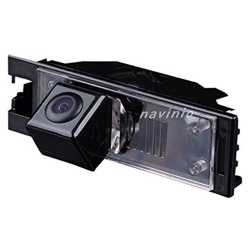 Navinio Rückfahrkamera wasserdicht Nachtsicht Rückansicht Kamera Einparkhilfe Rückfahrsystem, Schwarz für Hyundai IX35 Tucson MK2 2009~2016