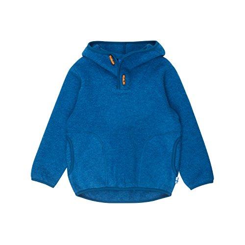 Finkid Jussi Wool Blau, Kinder Sweaters und Hoodies, Größe 80-90 - Farbe Seaport