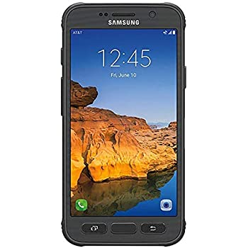 Samsung Galaxy S7 Active G891A 32GB GSM Unlocked Shatter-Resistant Extremely Durable Smartphone w/ 12MP Camera  Gray