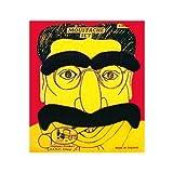 Groucho Moustache and Eyebrows Set - Black (accesorio de disfraz)