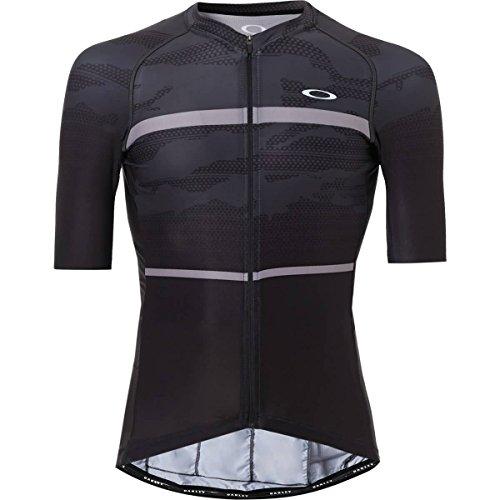 Oakley Men's Jawbreaker Road Jersey Shirts,X-Large,Blackout