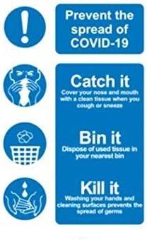 NIUNIUTU Safety Message Warning Bargain Max 63% OFF Tape Sticker Hand Use Sanitiser
