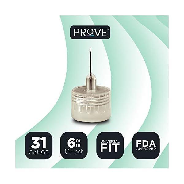buy  Prove Pen Needles 31 Gauge, 1/14 Inch, 6mm, 100 ... Diabetes Care