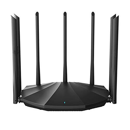 XinC Dual-Band Gigabit Wireless Router, Wi-Fi 6 Gaming-Router, Mobiler Spielmodus, Lebensdauer Kostenloser Internet-Sicherheit, Wi-Fi-Support, Gaming-Port.