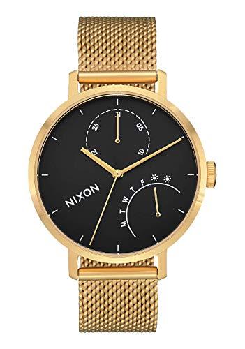 Nixon A1166-513 Clutch Women's Watch Gold-Tone 38mm Stainless Steel
