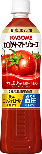 カゴメトマトジュース 食塩無添加 720ml×15本 PET