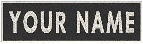 Custom Text Embroidered 7