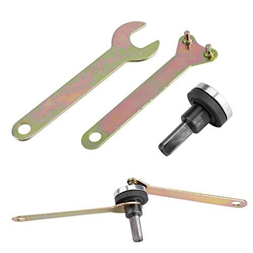 NO LOGO XW-LMLS, 5pcs Elektrische Winkelschleifer Umwandlung Winkel Schleifwerkzeuge Variable Winkelschleifer Pleuelstangen Converter Muttern Wrench Set (Size : 6mm Handle)