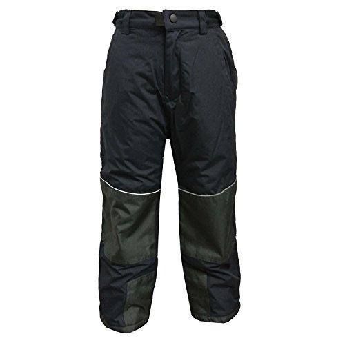 Outburst - jongens skibroek sneeuwbroek waterdicht 10.000 mm waterkolom, donkerblauw - 4504046db