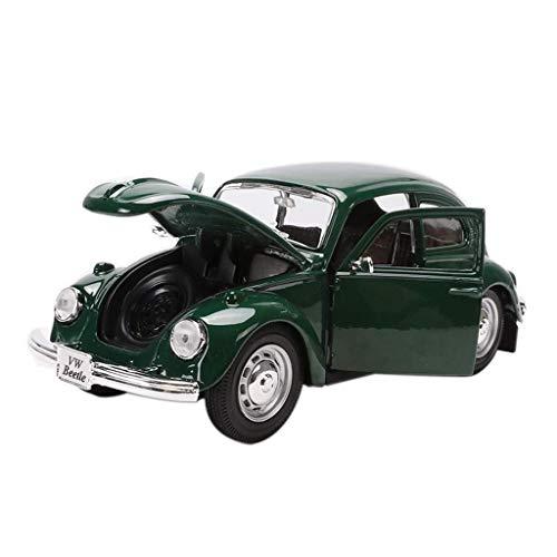 Hyzb Modo 1:24 del Modelo del Coche del Coche de simulación de aleación de fundición de joyería Juguete Sports Car Collection 17x6.1x5CM joyería