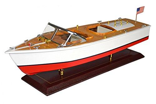 Navyline Holz Modellschiff - Amerikanisches Motorboot als Standmodell