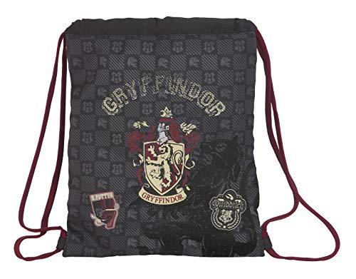 Harry Potter Gryffindor Saco Mochila Plano Cuerdas, Multicolor