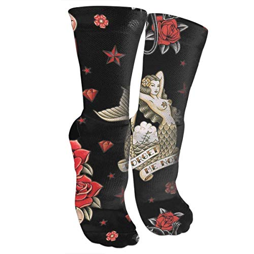 SDGSS High quality breathable Calcetines Old School Tattoo