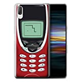 eSwish - Funda para teléfono móvil, diseño Retro Nokia 8210 Rouge Sony Xperia L3 2019