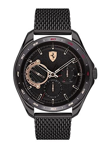 Scuderia Ferrari Speedracer Analog Black Dial Men's Watch-0830686