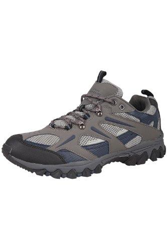 Mountain Warehouse Jungle Wanderschuhe für Herren - Leichte Laufschuhe, atmungsaktiv, weich, bequem, Flexible Fitnessschuhe - Ideal für Wandern und Trekking Blau 44