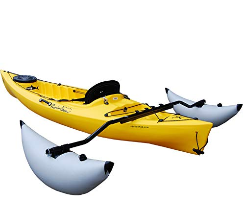 Kit Coppia Stabilizzatori Alta qualità per Canoe e Kayak