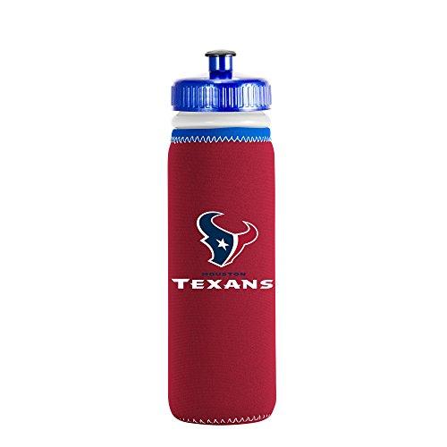 NFL Houston Texans Van Metro Sports Bottle, Red, 22-ounce