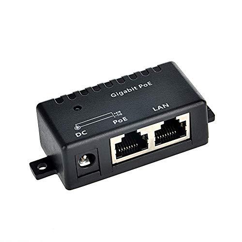 WiFi-Texas WS-GPOE-1-WM, inyector Gigabit PoE de Montaje en Pared de 1 Puerto: Fuente de alimentación sin incluida
