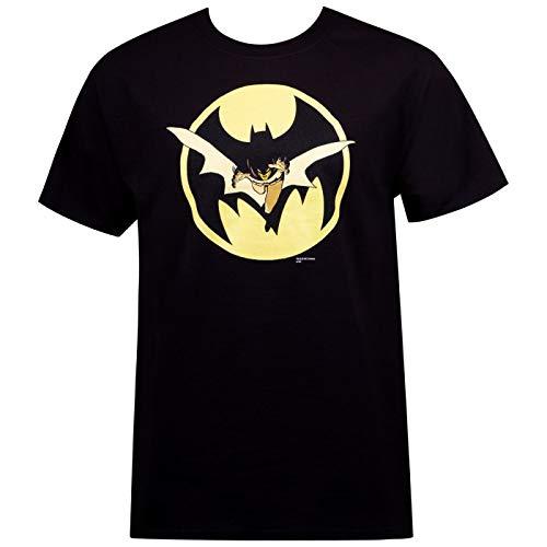 Camiseta masculina Batman Year One por David Mazzucchelli, Preto, M